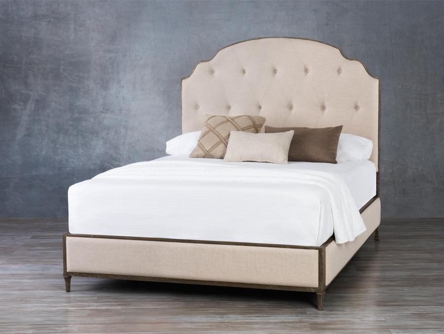 Upholstered Bed Wesley Allen