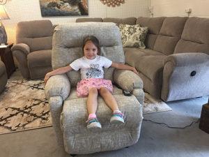 childs recliner